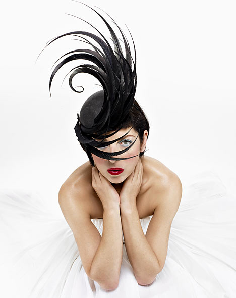 Isabella Blow Cover Philip Treacy Hat