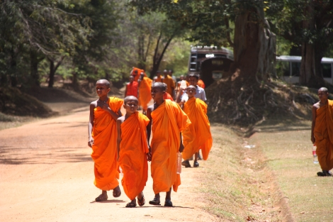 Sri Lanka Monks