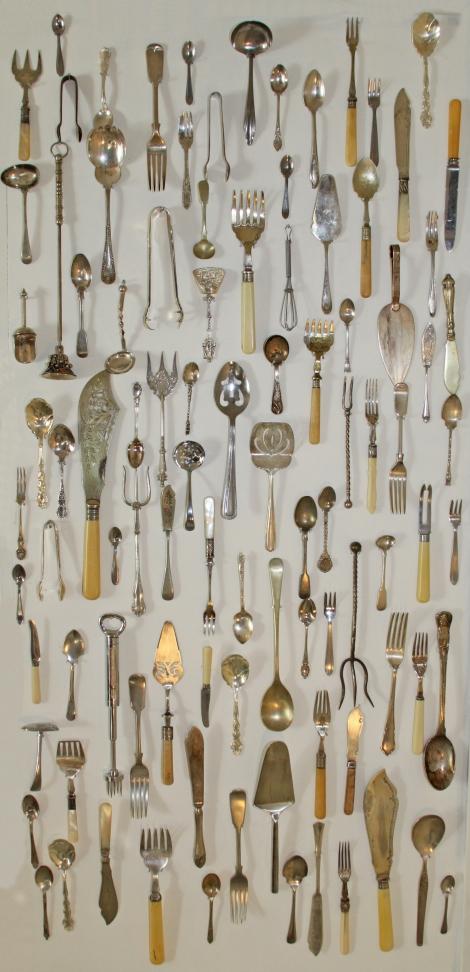 cutlery wall
