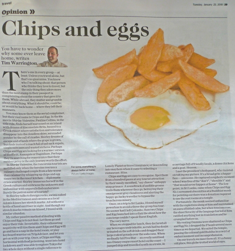 Chips and Egg